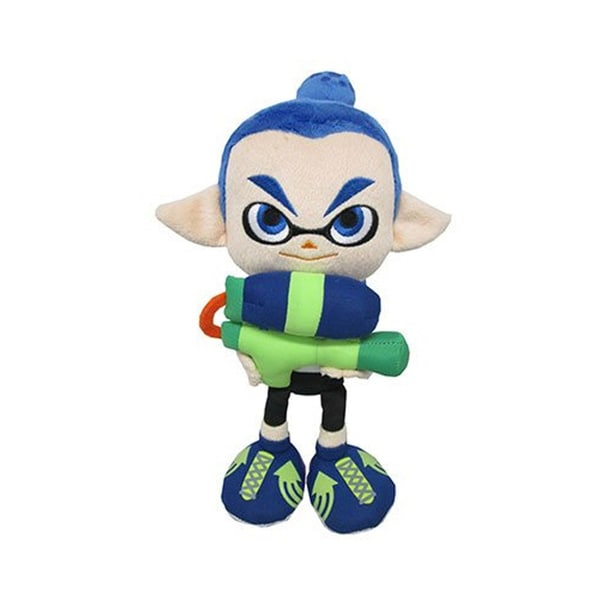 Nintendo 10-inch Splatoon Boy Inkling Plush Toy