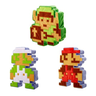 World of Nintendo 8-bit Super Mario Wave 1 Case Plush Toy (Pack of 6)