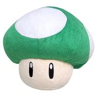 Nintendo Super Mario Green 1UP Mushroom Pillow