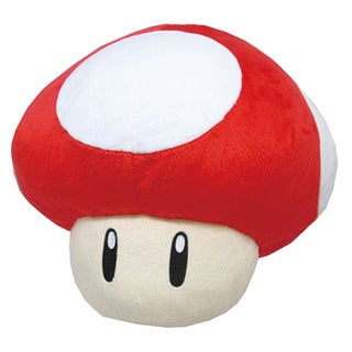 Nintendo Super Mario Super Mushroom Pillow