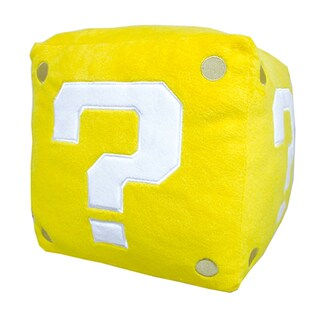 Nintendo Super Mario Coin Box Pillow