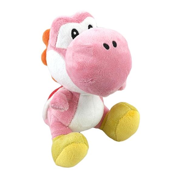 Nintendo 6-inch Super Mario Pink Yoshi Plush Toy