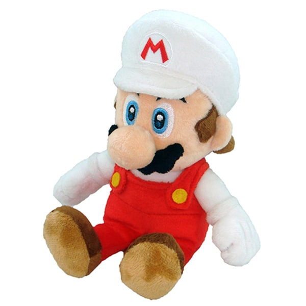 Nintendo 8-inch Super Mario Fire Mario Plush Toy