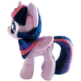 4th Dimension 10.5-inch My Little Pony Twilight Sparkle Closed Wings Plush Toy
