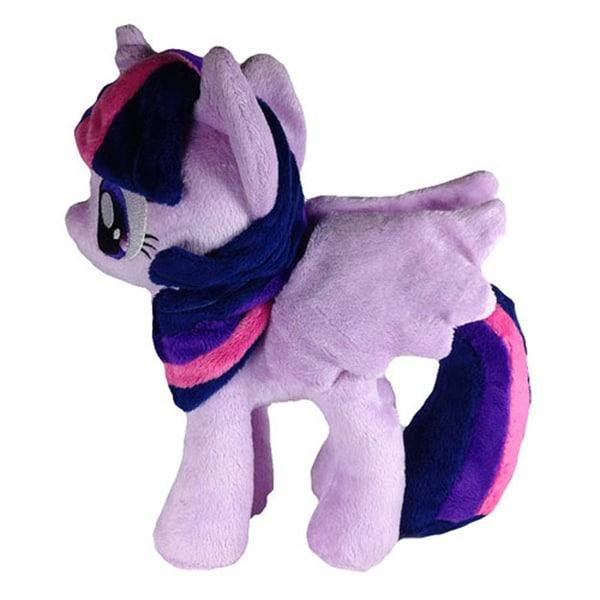 4th Dimension 10.5-inch My Little Pony Twilight Sparkle Open Wings Plush Toy