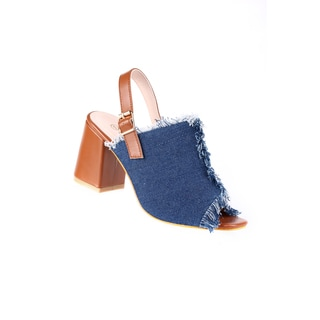 Xehar Women's Stylish Heeled Peep Open Toe Sandal