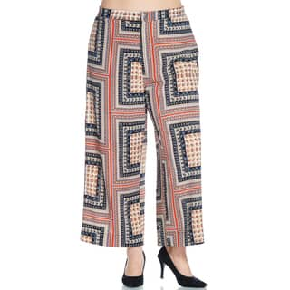 Xehar Women's Plus Size Elastic Waistband Tapestry Printed Palazzo Pants https://ak1.ostkcdn.com/images/products/15027189/P21523373.jpg?impolicy=medium