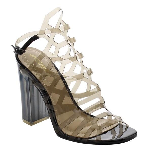 ba48b6b67ce Shop jacobies women af clear lucite slingback peep toe high heel jpg  600x600 Lucite high heel