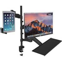 CTA Digital PAD-2AMTK Desk Mount for Monitor, Tablet, Keyboard