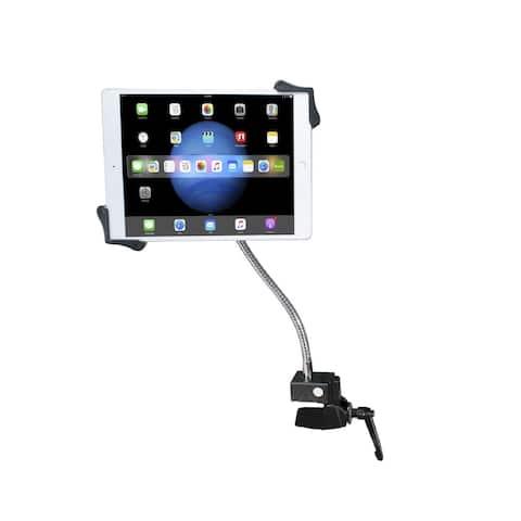 CTA Digital PAD-HGT Clamp Mount for Tablet, iPad - Black