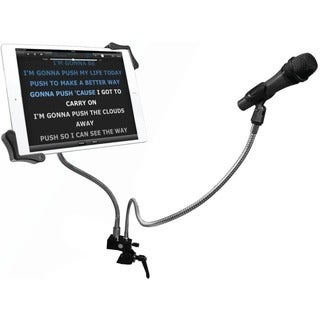CTA Digital PAD-MTG Clamp Mount for Microphone, Tablet PC, iPad mini,