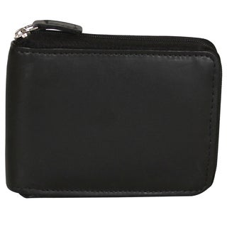 Dopp Regatta Leather Zip-around Billfold Wallet
