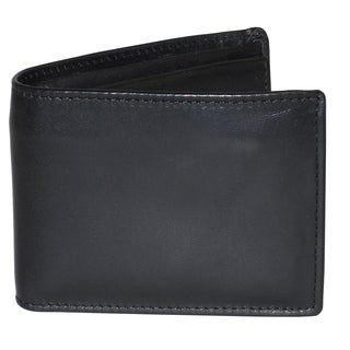 Dopp Regatta Convertible Leather Billfold with Zip Bill Compartment