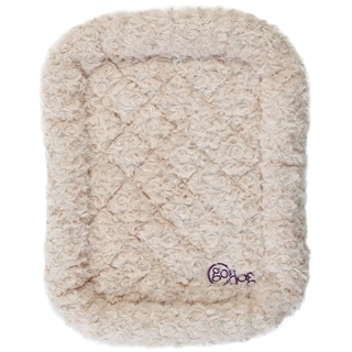 GoDog Bedzzz Shag Plush Dog Bed and Crate Pad