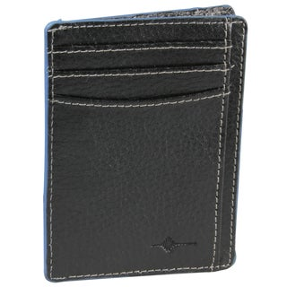 Buxton Leather RFID Front-pocket Getaway Wallet