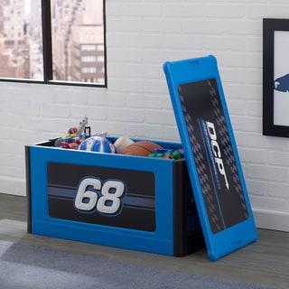 Delta Children Turbo Store and Organize Toy Box, Blue
