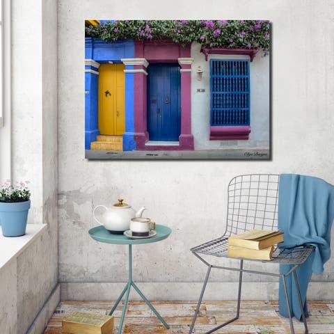 Ready2HangArt Indoor/Outdoor Wall Décor 'Provincial IX' in ArtPlexi by Olga Burgos