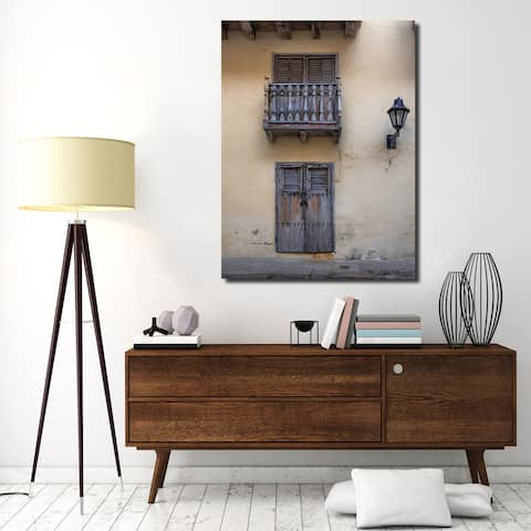 Ready2HangArt Indoor/Outdoor Wall Décor 'Provincial VII' in ArtPlexi by Olga Burgos - Multi-color
