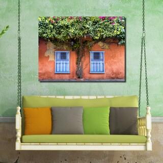 Ready2HangArt Indoor/Outdoor Wall Décor 'Provincial VI' in ArtPlexi by Olga Burgos - Multi-color