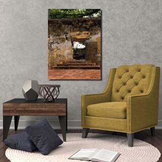 Ready2HangArt Indoor/Outdoor Wall Décor 'Provincial IV' in ArtPlexi by Olga Burgos - Multi-color