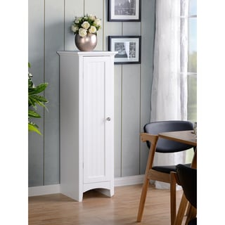 OS Home and Office White One Door Kitchen Storage Pantry