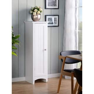 OS Home and Office White One Door Kitchen Storage Pantry|https://ak1.ostkcdn.com/images/products/15029102/P21524997.jpg?impolicy=medium