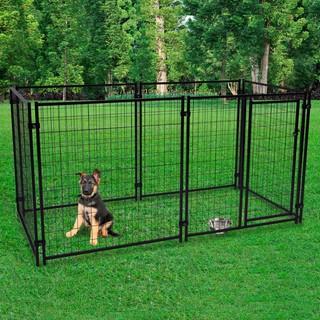 Lucky Dog Midtown Black Large Heavy-duty Outdoor Pet Playpen