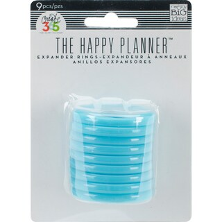 Create 365 Planner Expander Rings 9/Pkg
