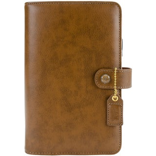 Color Crush A2 Faux Leather Personal Planner 6-Ring Binder