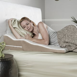 Avana Contoured Support Memory Foam Wedge Pillow