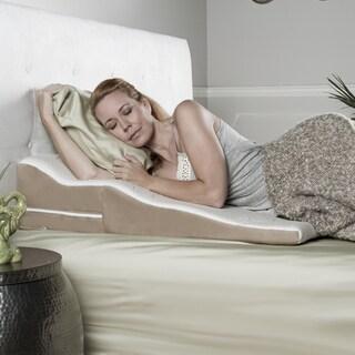 avana contoured support memory foam wedge pillow