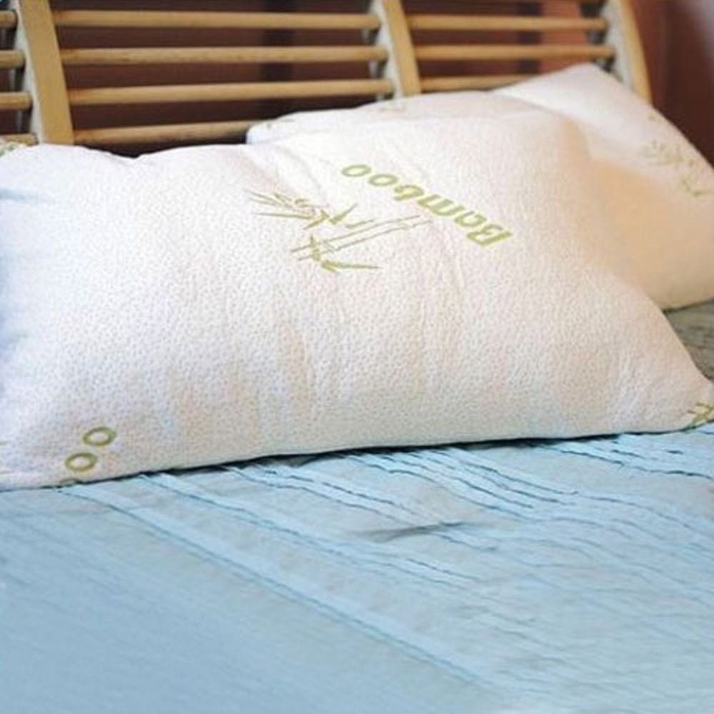 High Comfort Shredded Memory Foam Pillow with Rayon from ...
