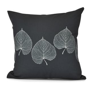 Leaf Print 2 Floral Print Pillow
