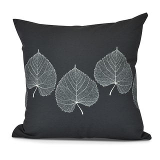 Leaf Print 2 Floral Print Pillow