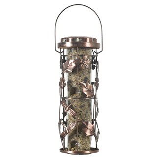 Perky Pet Copper Garden Bird Feeder 1lb capacity