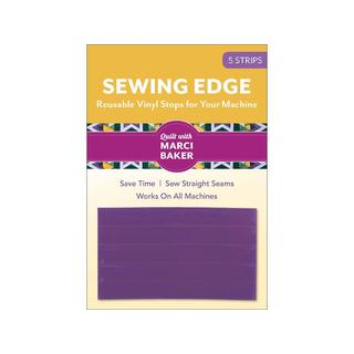 C&T Sewing Edge Vinyl Stops Purple 5pc