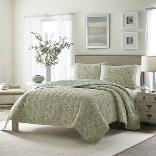 Link to Stone Cottage Emilia Cotton Quilt Full/Queen Size Set (As Is Item) Similar Items in As Is