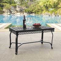 Gracewood Hollow Vertua Black Cast Aluminum Coffee Table