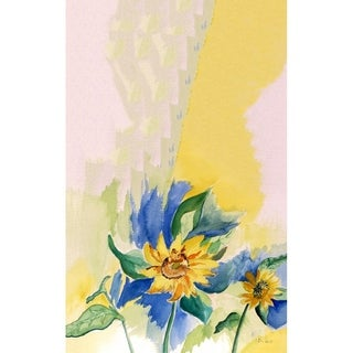Betsy Drake Betsy's Sunflower Cotton/Microfiber Kitchen Towel