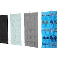 Hanging Over The Door Shoe Pockets (Set of 2) - TUSK Storage