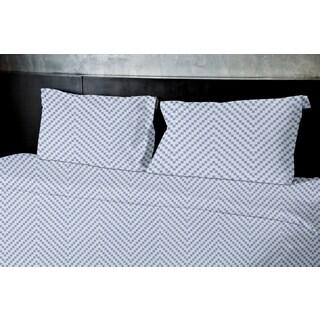 Herringbone 3-piece Duvet Cover Set