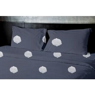 Denim Dot 3-piece Duvet Cover Set