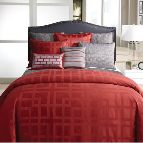 Veratex Frames Comforter Set - Red