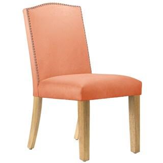 Skyline Furniture Velvet Nail Button Dining Chair