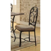 Acme Furniture Kiele Antique Black Dining Chairs (Set of 2)