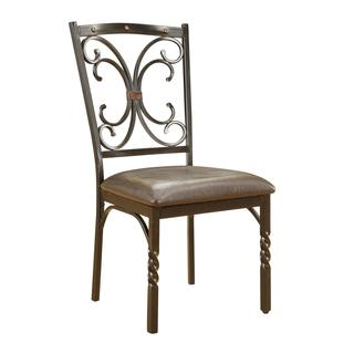 Acme Furniture Burril PU Dining Chairs (Set of 2)