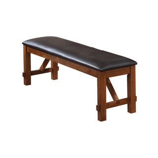 Acme Furniture Brown Apollo Dining Bench