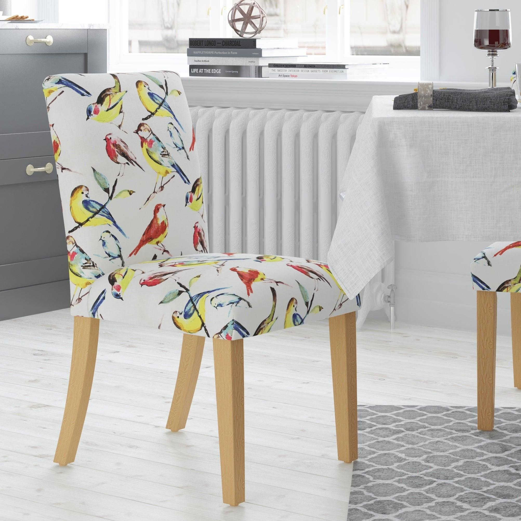 Skyline Furniture Bird Watcher Summer Multicolor Upholste...