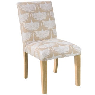 Skyline Furniture Dining Chair in Flock Chalk