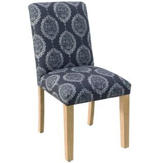 Skyline Furniture Damask Blue Dining Chair